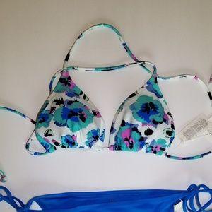 NWT Volcom | L Bikini Top